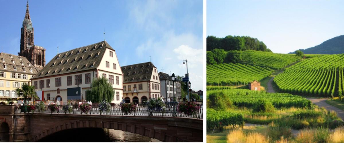Elsass und Straßburg