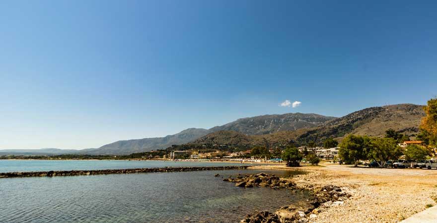 Georgioupolis Strand auf Kreta