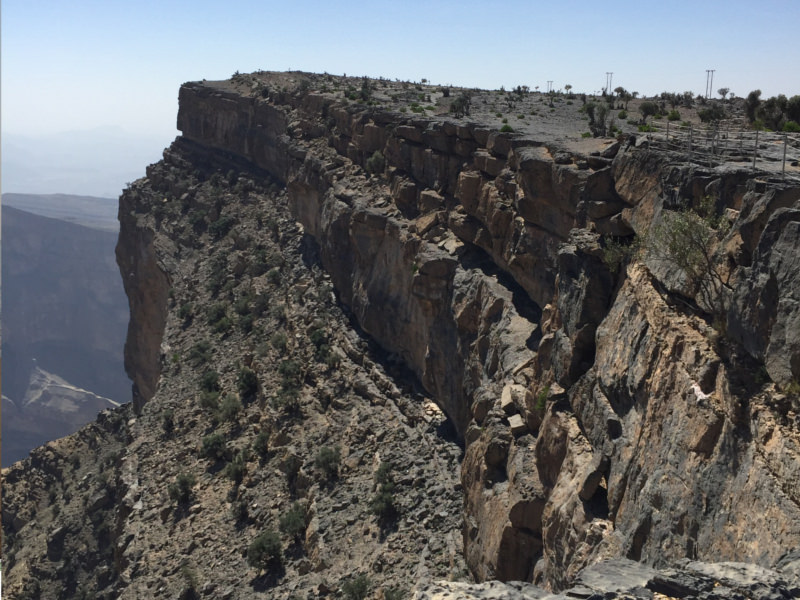 Jebel Shams Grand Canyon Oman