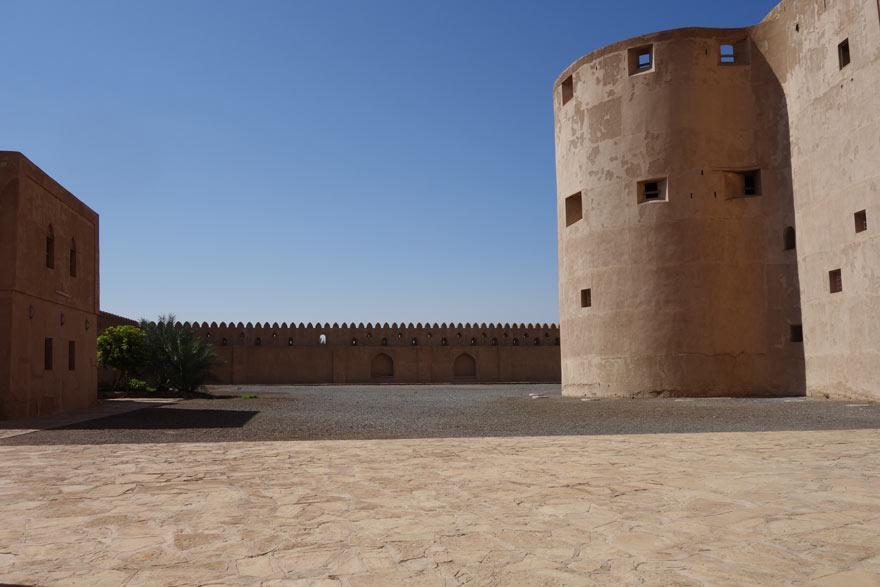 Ford Jabrin Castle im Oman