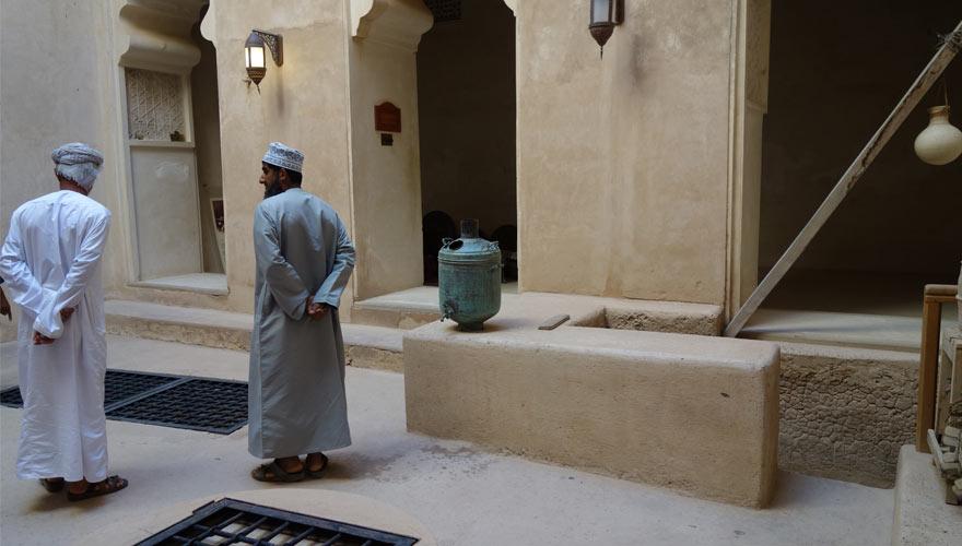 Ford Jardin im Oman