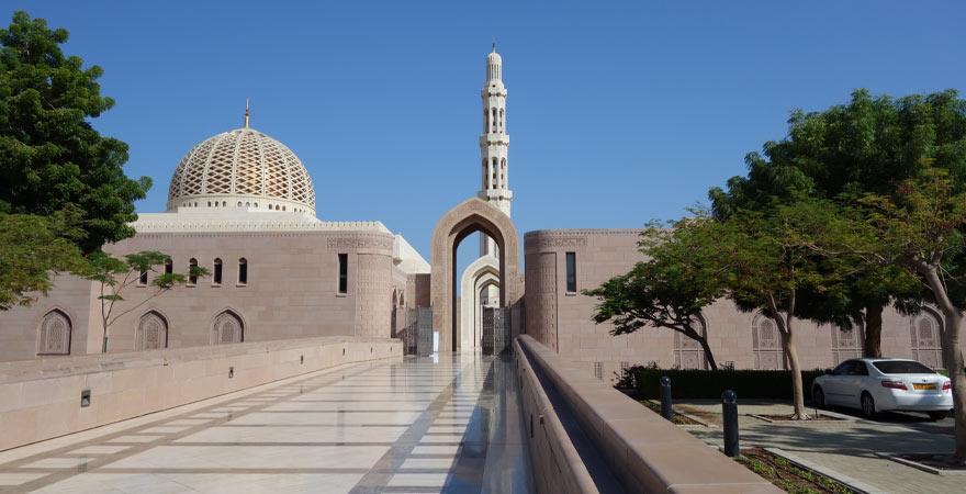 Grand Große Sultan-Qabus-MoscheeMo