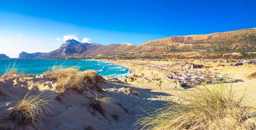 Phalasarna Strand auf Kreta