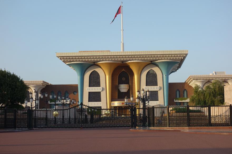 Sultanspalast im Oman