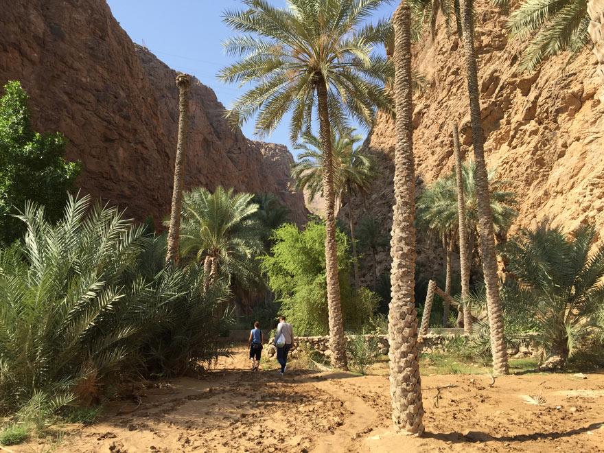Wadi Shab im Oman