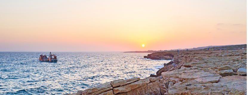 Zypern Sonnenuntergang