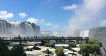 Wasserfall Brasilien
