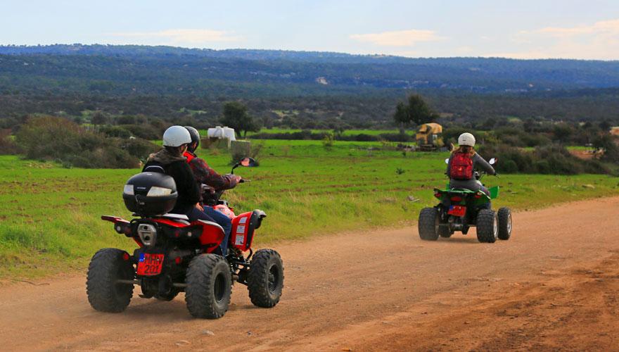 Quad-Tour auf der Halbinsel Akamas