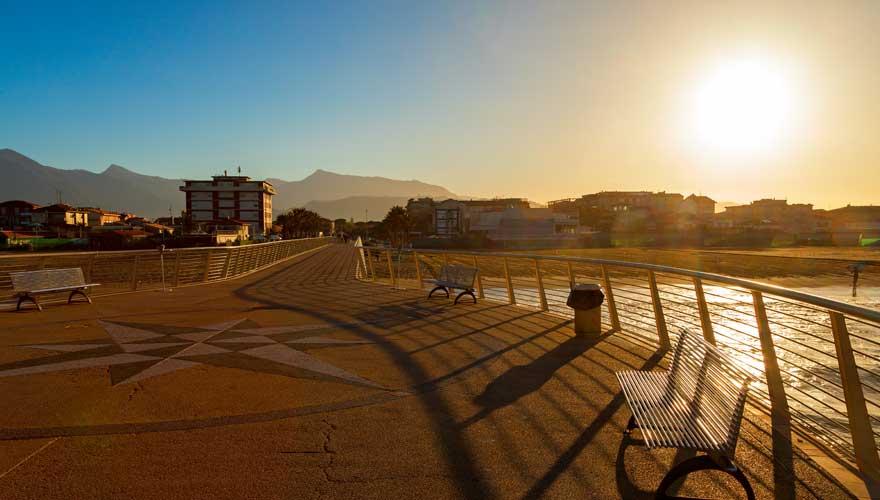 Strandpromenade Lido di Camaiore
