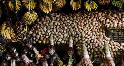 Obst und Gemüsestand in Kenia