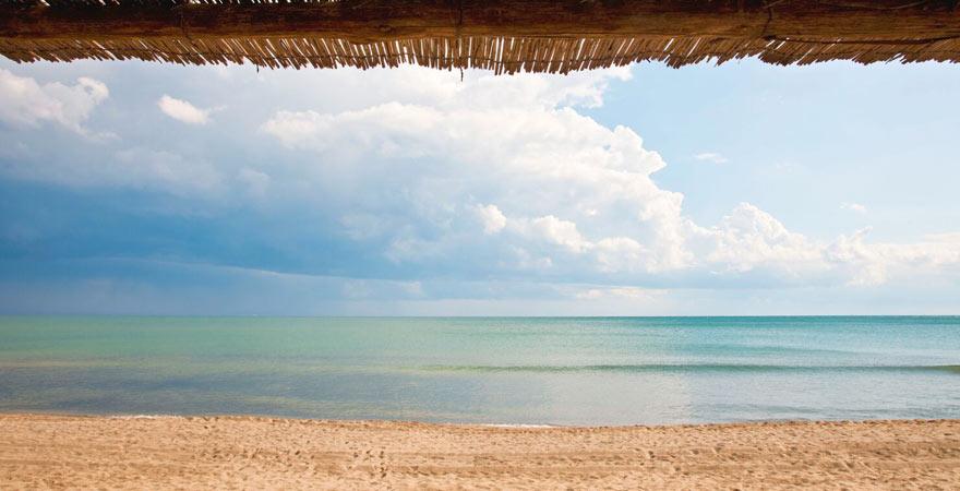 Strand La Rocchette in der Toskana