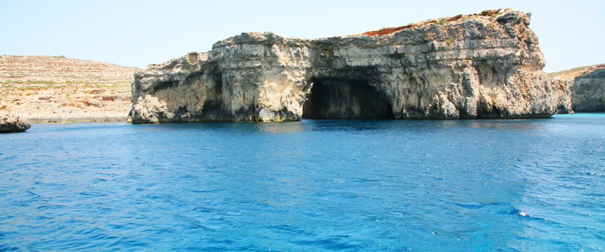 Blaue Höhle auf Malta