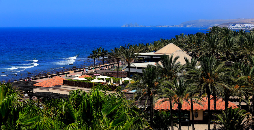 Blick auf Küste von Gran Canaria