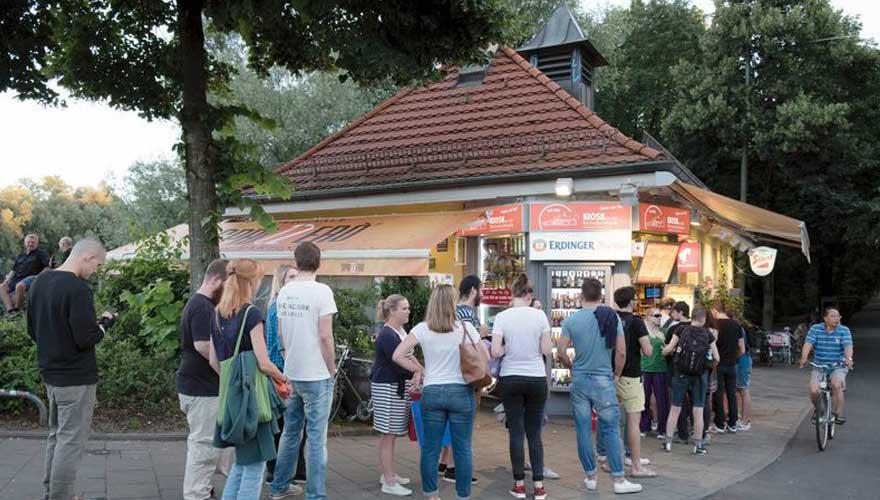 Kiosk Reichenbachbrücke in München