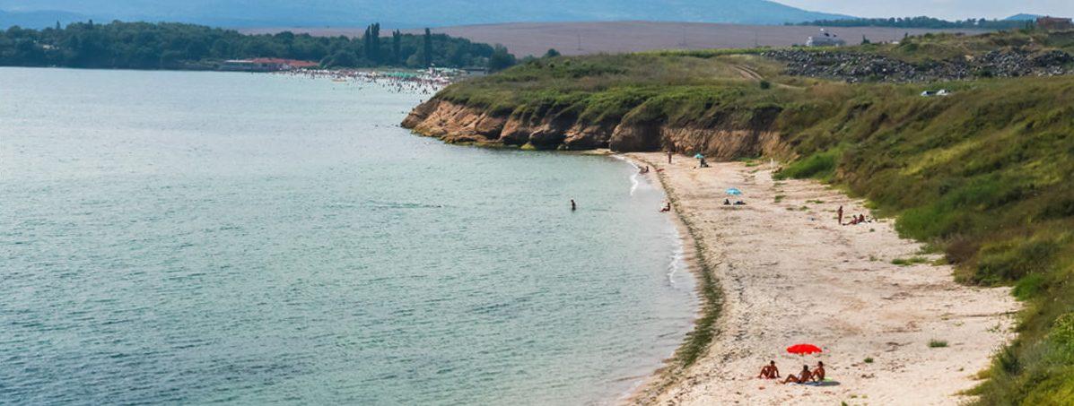 Strand bei Burgas