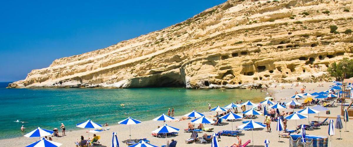 Strand bei Matala