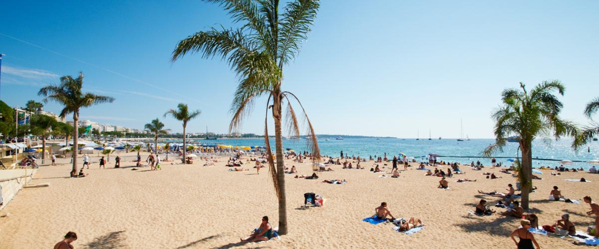 Strand in La Barceloneta
