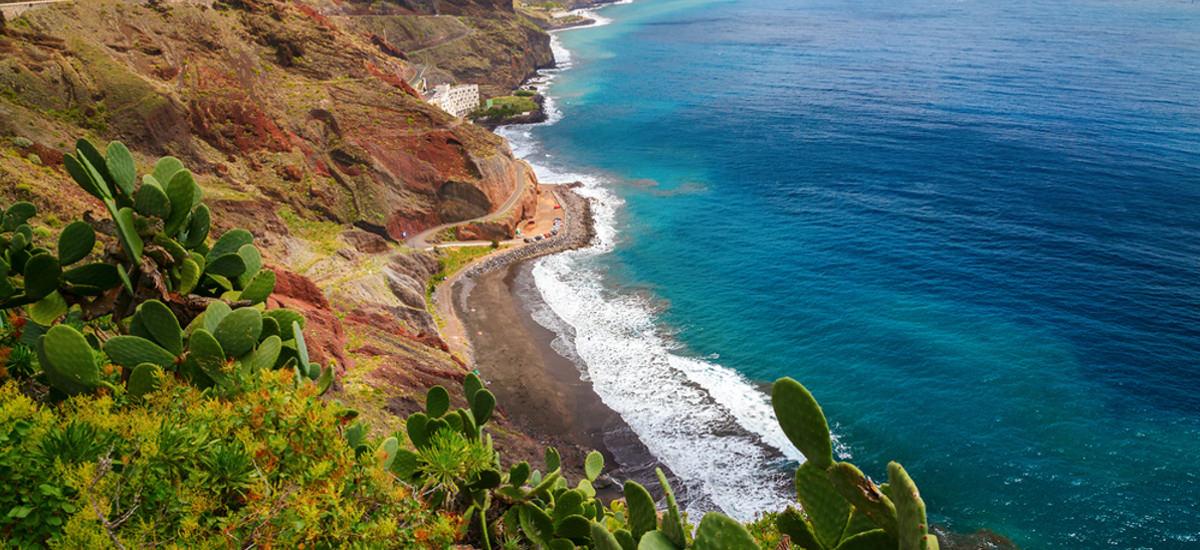 Playa de las Gaviotas auf Teneriffa