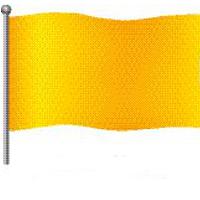 Bedeutung gelbe Flagge am Strand