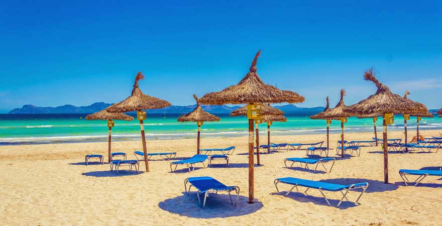 Strand bei D'Alcudia