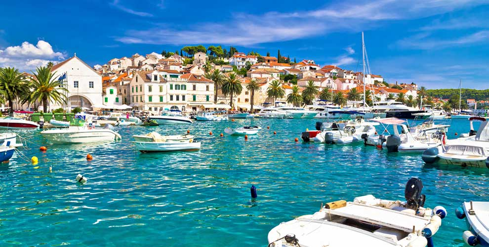 Hvar in Kroatien