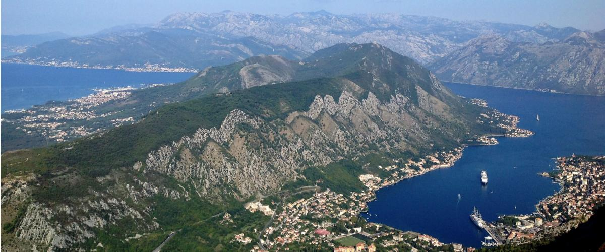 Kotor Bay is Europe's southernmost fjord