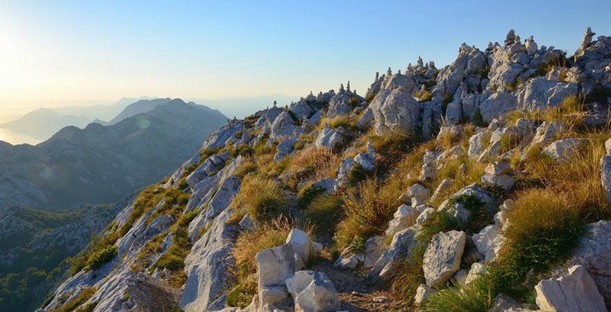 Gebirge Mitteldalmatien