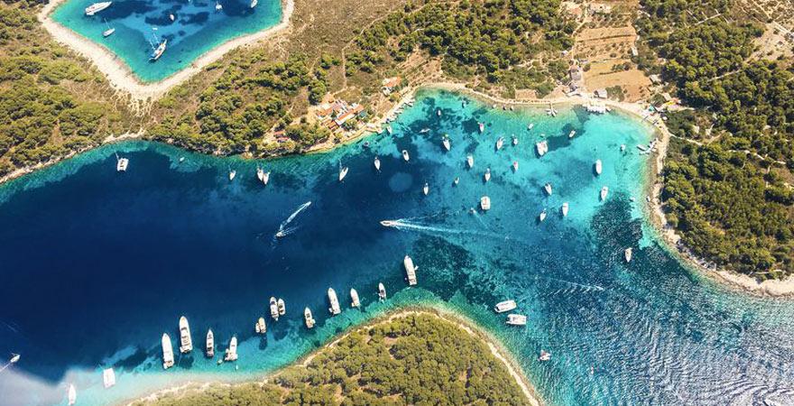 Inseln in Kroatien