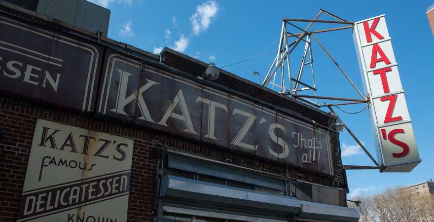 katzs Restaurant in NY