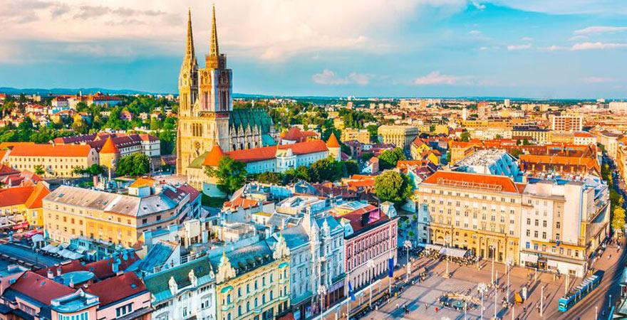 zagreb in Kroatien