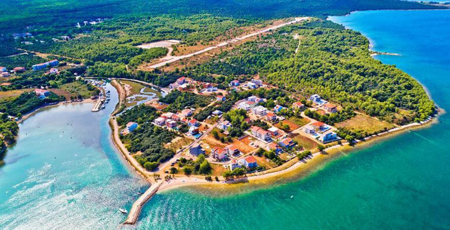 Punta Skala in Dalmatien