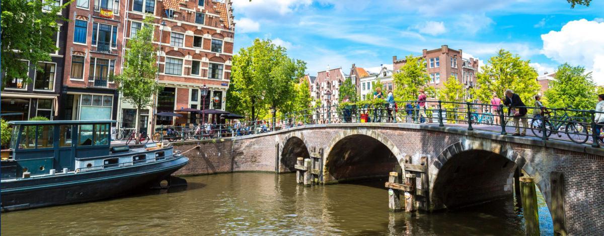 Urlaub in Amsterdam