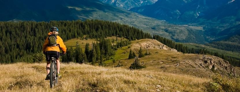 Fahrrad-Berge