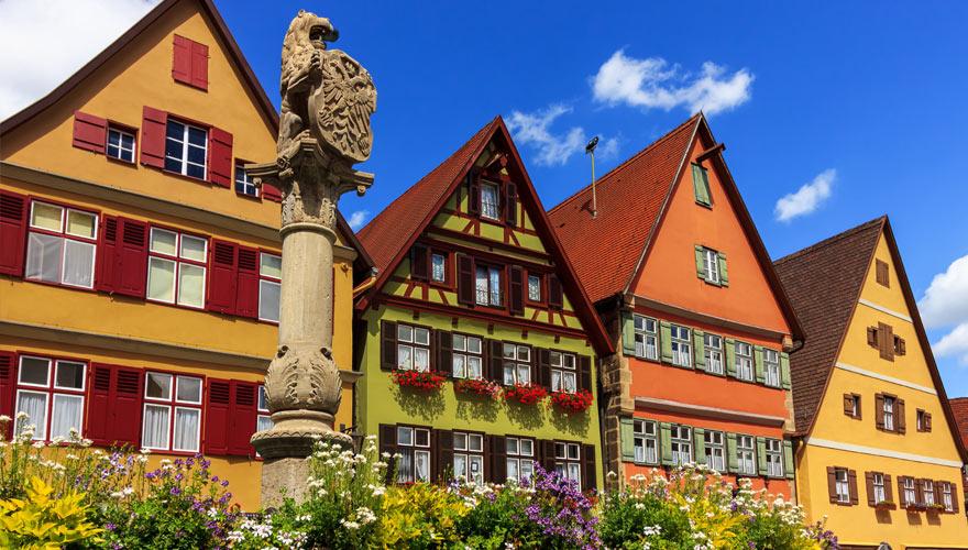 Dinkelsbühl in Bayern