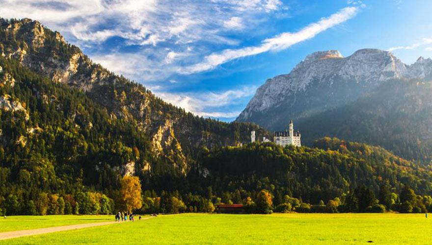 Füssen Schloss Neuschwanstein