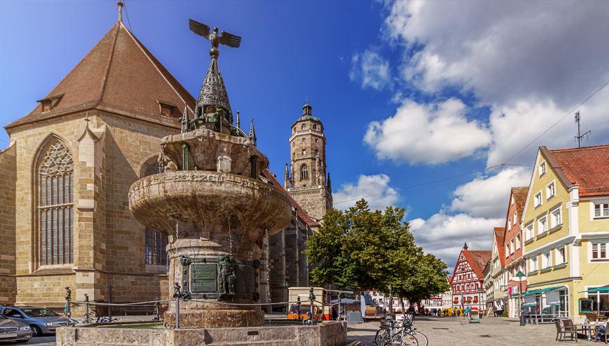 Nördlingen in Bayern