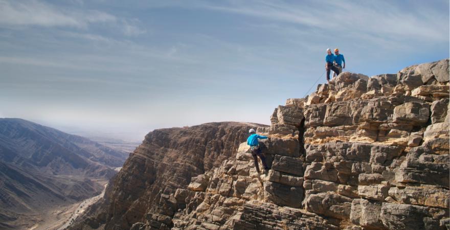 Klettern in Ras Al Khaimah