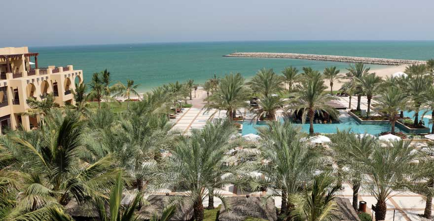 Hotelanlage Hilton Ras al Khaima Resort and Spa