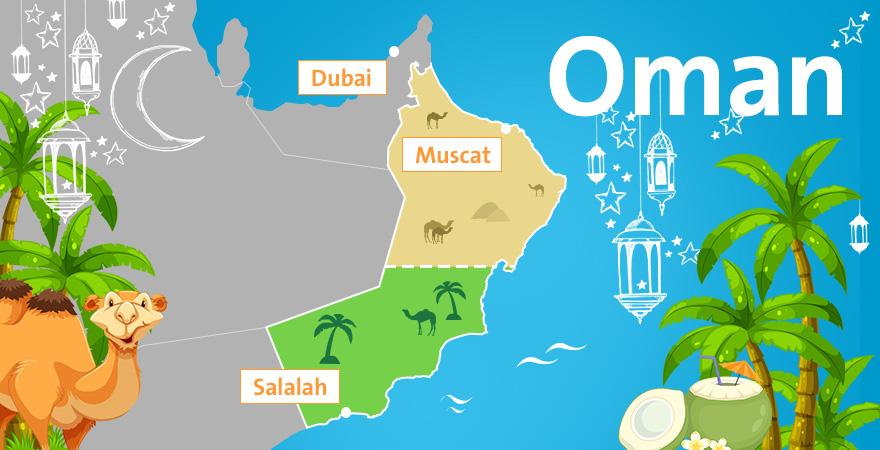 Karte Oman Salalah.Unser Geheimtipp Am Indischen Ozean Salalah Im Oman Fti