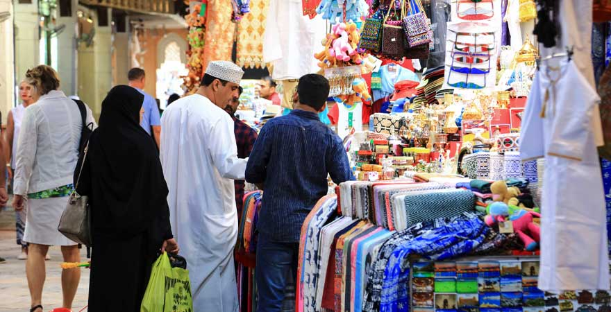 Souk im Oman
