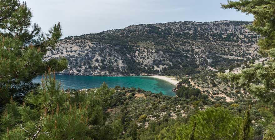 strand livadi in albanien
