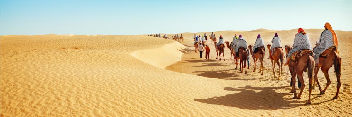 Kamelreiten-Tunesien
