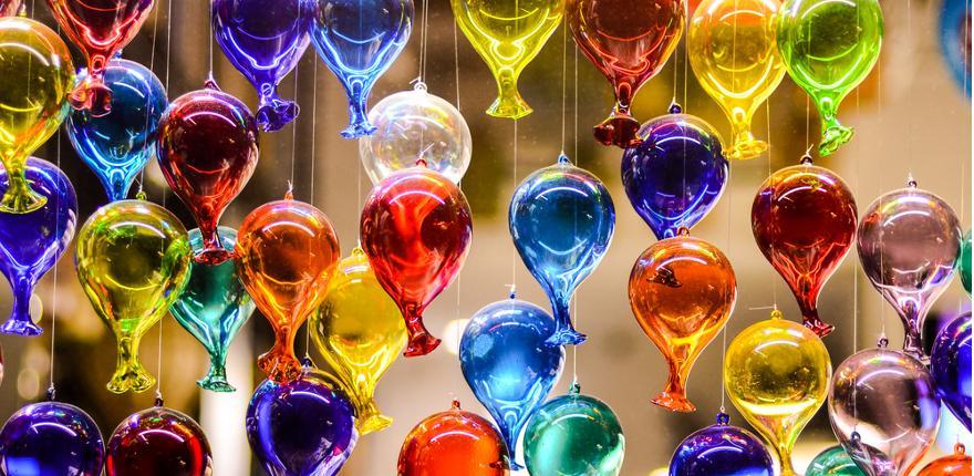 Murano Glas aus Italien