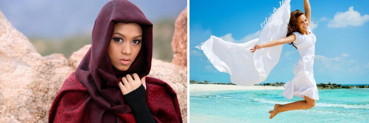 Landestypische Kleidung in arabischen Ländern