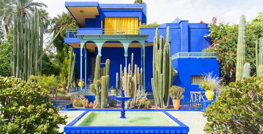 Majorelle-Garden in Marrakesch