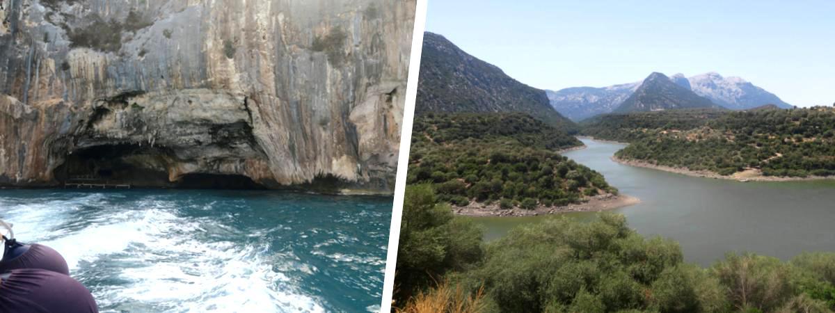 Grotta del Bue Marino, Lago di Cedrino