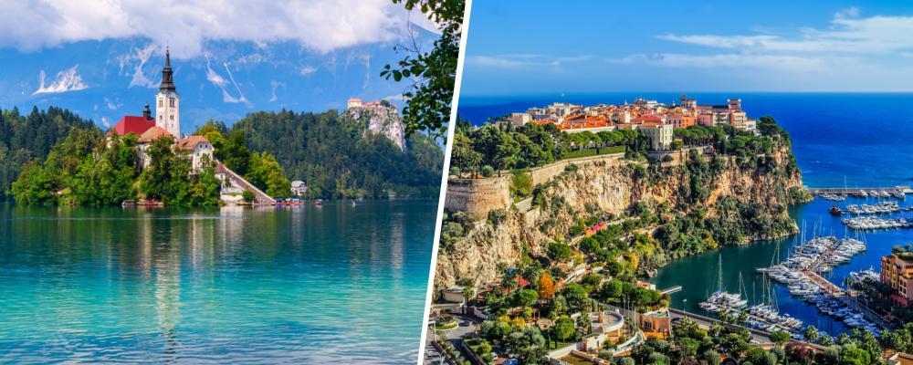 Schöne Thermen in Slowenien und Monaco