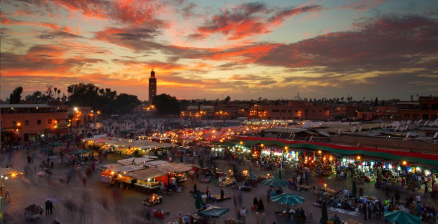 Gauklermarkt Marrakesch