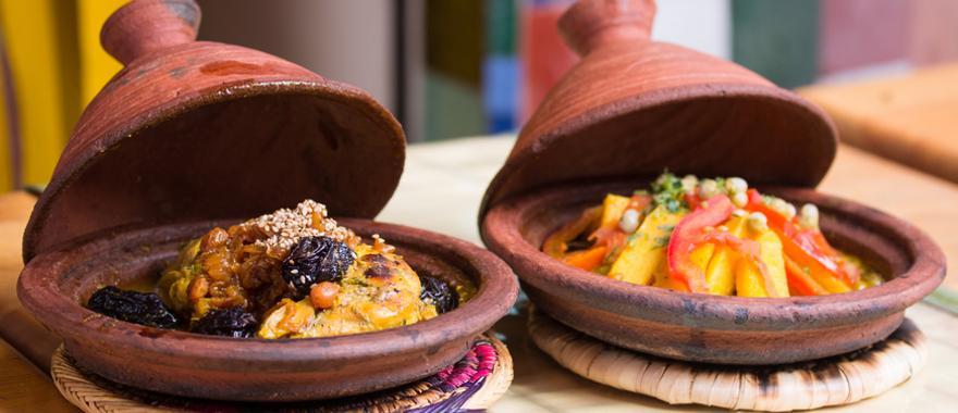 Typisches Gericht aus Marokko