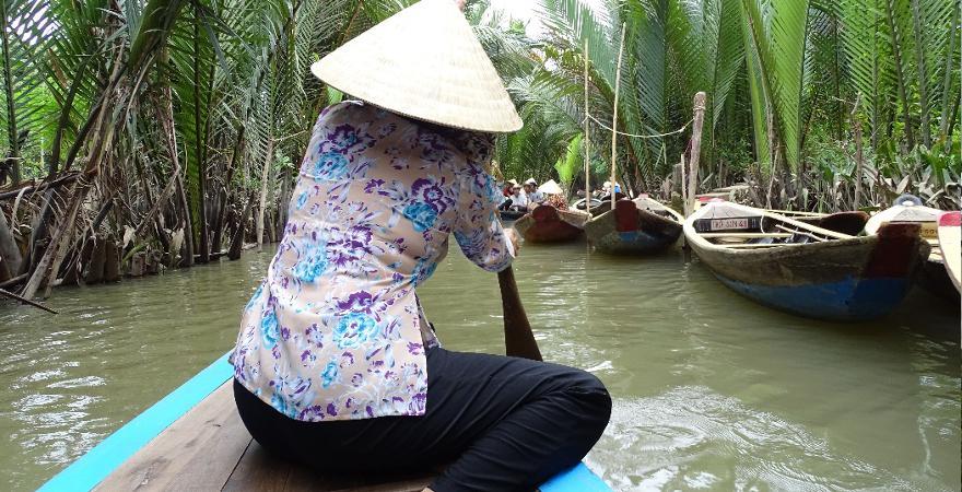 Bootfahrt Vietnam